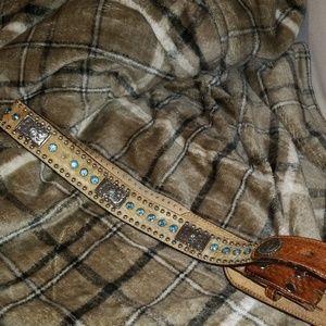 Nocona Hide belt